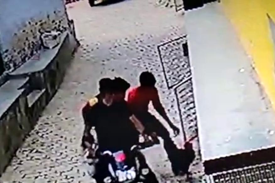 CCTV में कैद हुए मुर्गा चोर