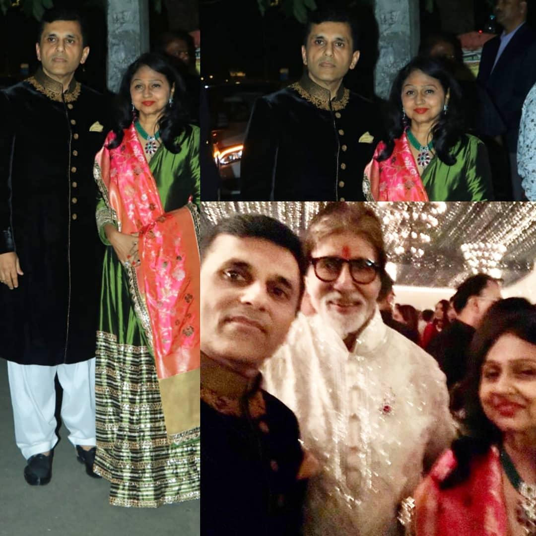 दिवाली पार्टी में कुछ इस अंदाज नें दिखाई दिए अमिताभ बच्चन.