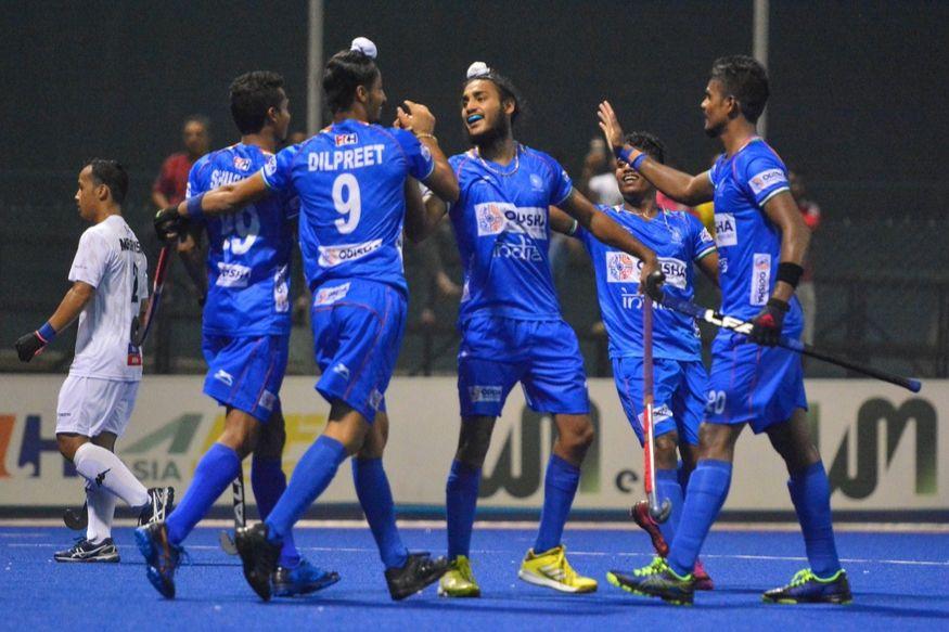 भारतीय हॉकी टीम ने पहले मैच में मलेशिया को हराया था