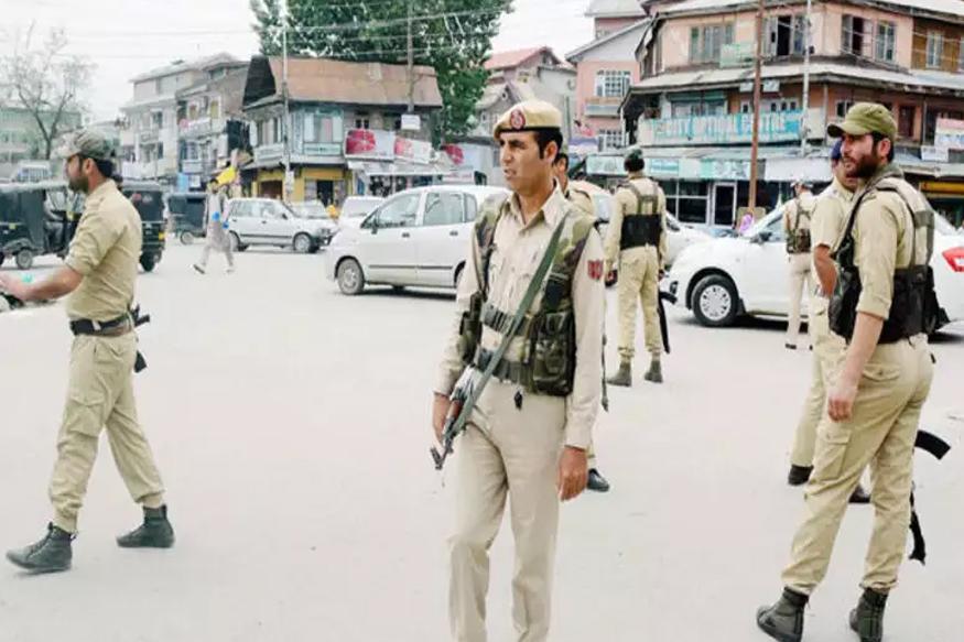 kahsmir police