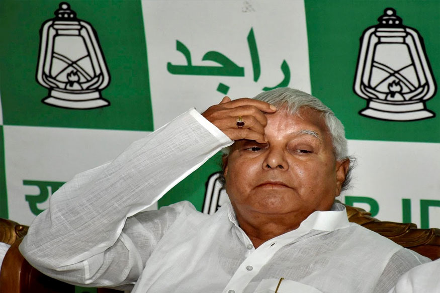 when lalu prasad yadav was criticized for his comment on flood victim in bihar