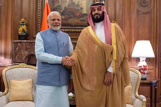 pm modi saudi arabia visit sign dozen agreements one on strategic partnership council hold talks with king salman