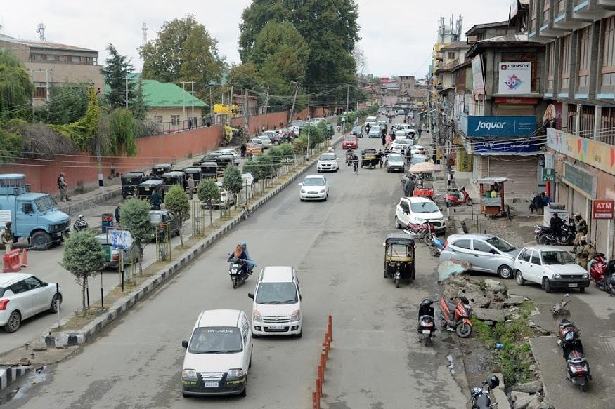 कश्मीर में पाक की साजिश को लोगों ने किया नाकाम, 99 फीसदी इलाकों में शांति