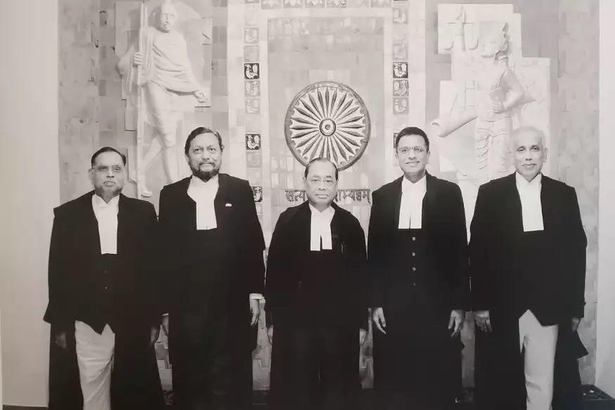 CJI Ranjan Gogoi Justice Chandrachud Justice Ashok Bhushan Justice Nazeer Justice SA Bobde