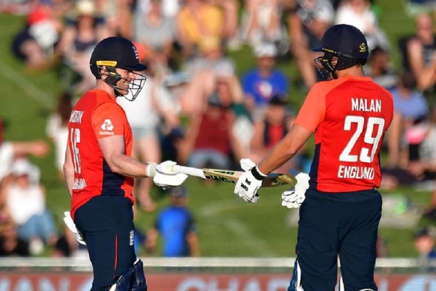 New Zealand vs England, 4th T20I: इंग्लैंड ने न्यूजीलैंड के खिलाफ पहले बल्लेबाजी करते हुए 20 ओवर में 241 रन ठोक दिए