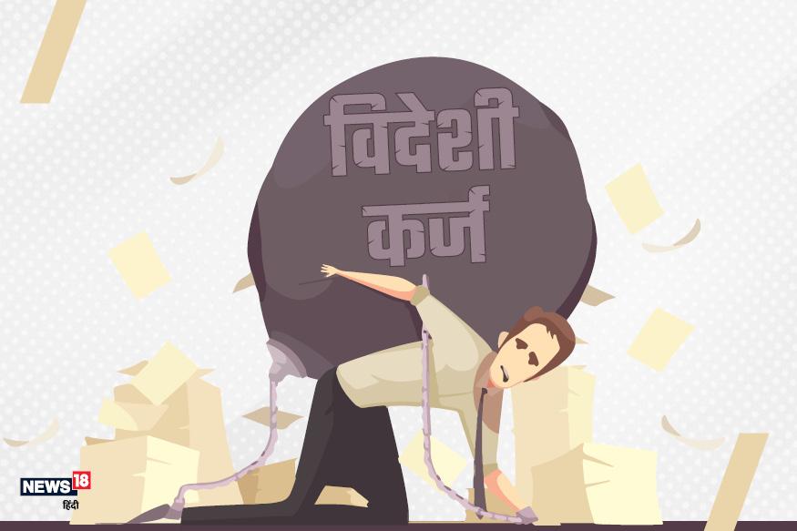 जून के महीने में रिजर्व बैंक ऑफ इंडिया (RBI) की एक रिपोर्ट आई थी जिसके मुताबिक, भारत का कुल बाहरी कर्ज मार्च 2019 तक 543 अरब डॉलर था. मार्च 2018 के मुकाबले बाहरी कर्ज की राशि में करीब 13.7 अरब डॉलर का कर्ज बढ़ा. GDP से तुलना करें तो यह राशि 19.7 फीसदी थी. आपको बता दें कि देश में कल्याणकारी योजनाओं और आधारभूत संरचना के विकास के लिए सरकार को विदेशों से लोन लेना पड़ता है. जानिए साल 1999 से 2019 तक भारत पर विदेशी कर्ज कितना बढ़ता गया?