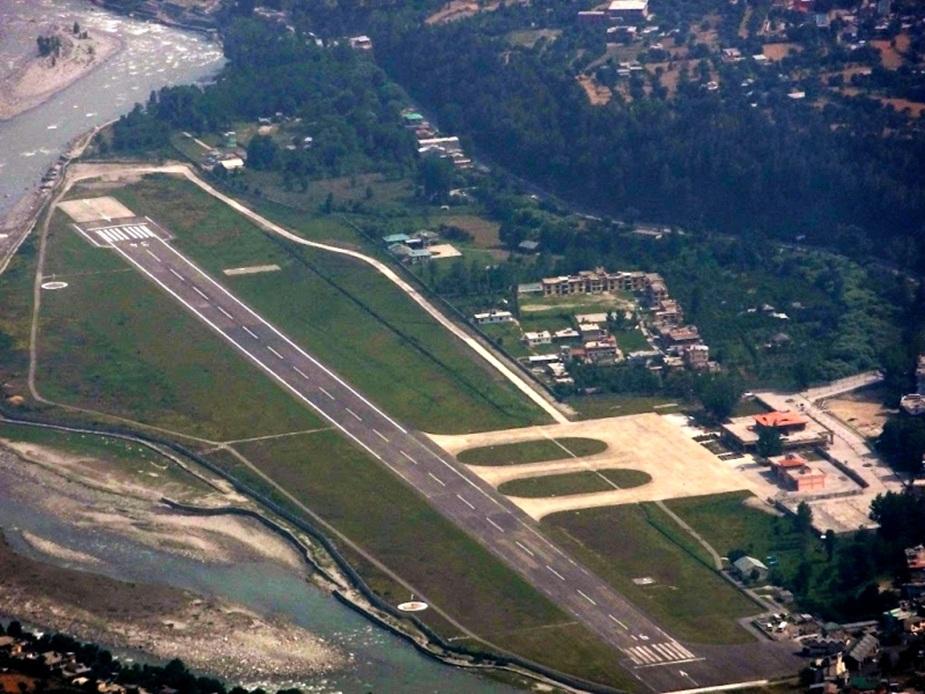 कुल्लू का भुंतर एयरपोर्ट. (File Photo)