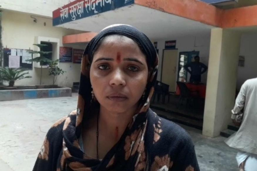 महिला ने पुलिस से की सुरक्षा की मांग