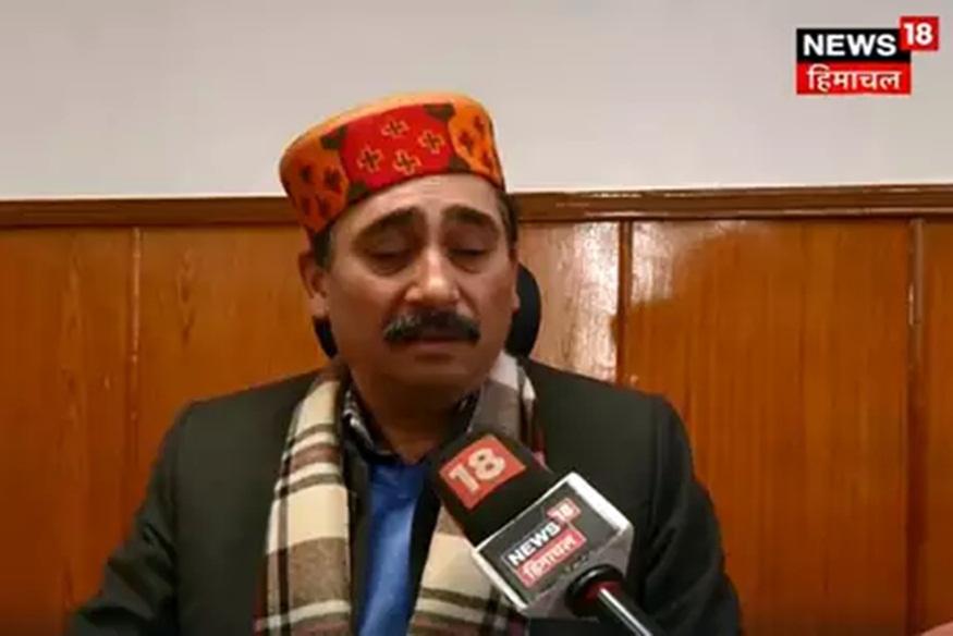 हिमाचल के स्वास्थ्य मंत्री विपिन सिंह परमार.