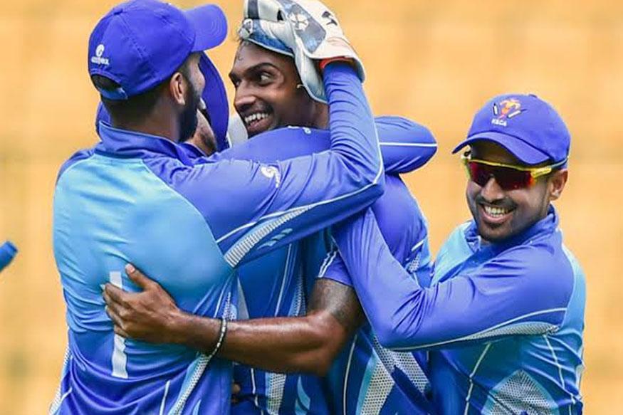 abhimanyu mithun hat trick, haryna vs karnataka, 5 wickets in 6 balls, cricket news, bcci, syed mushtaq ali trophy, abhimanyu mithun, अभिमन्यु मिथुन, बीसीसीआई, सैयद मुश्ताक अली ट्रॉफी,