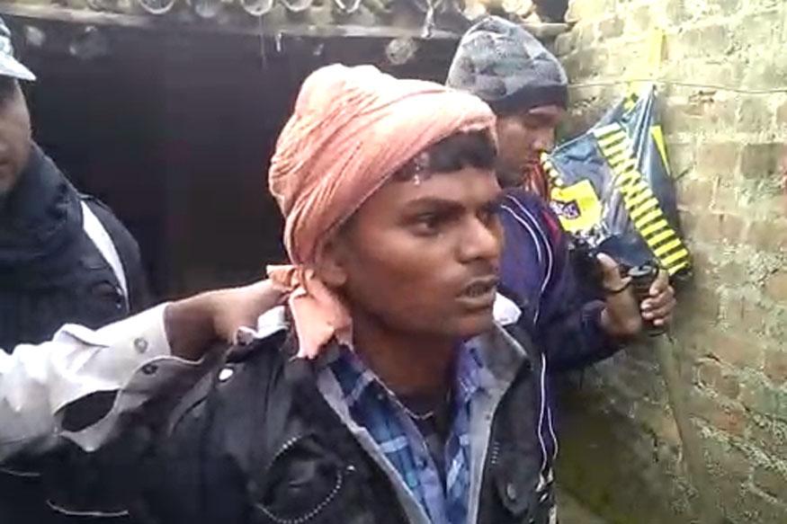 पुलिस ने आरोपी गंगा दास को गिरफ्तार कर लिया