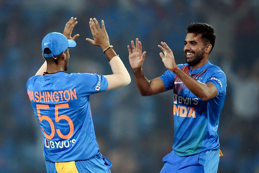 deepak chahar hat trick, deepak chahar record, deepak chahar bowling, india bangladesh t20, दीपक चाहर हैट्रिक, दीपक चाहर रिकॉर्ड, दीपक चाहर बॉलिंग, दीपक चाहर इंडिया बांग्लादेश टी20