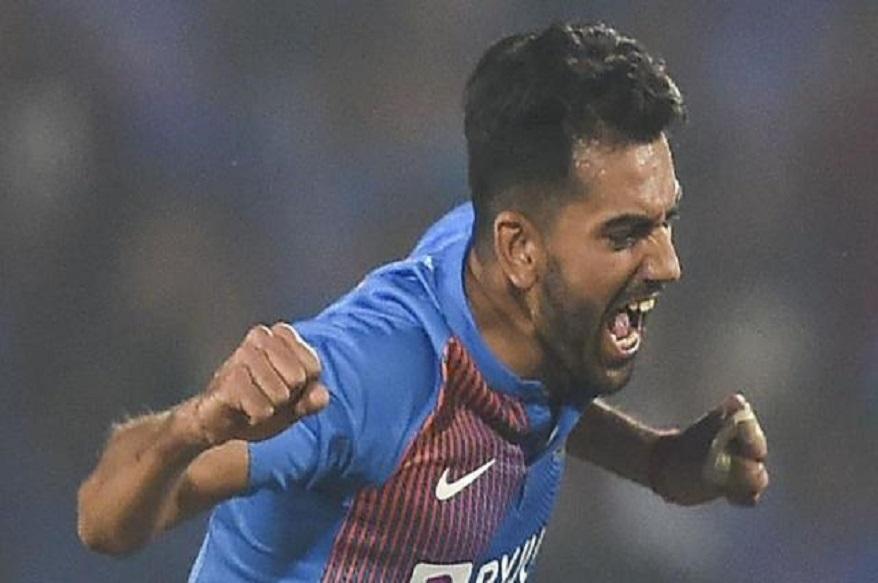 india vs bangladesh, deepak chahar, deepak chahar 3 wickets, deepak chahar last over, rajasthan vs uttar pradesh, syed mushtaq ali trophy, hat trick, cricket news, दीपक चाहर, दीपक चाहर हैट्रिक, क्रिकेट न्यूज, राजस्थान वस यूपी, सैयद मुश्ताक अली ट्रॉफी, दीपक चाहर हैट्रिक, इंडिया वस बांग्लादेश