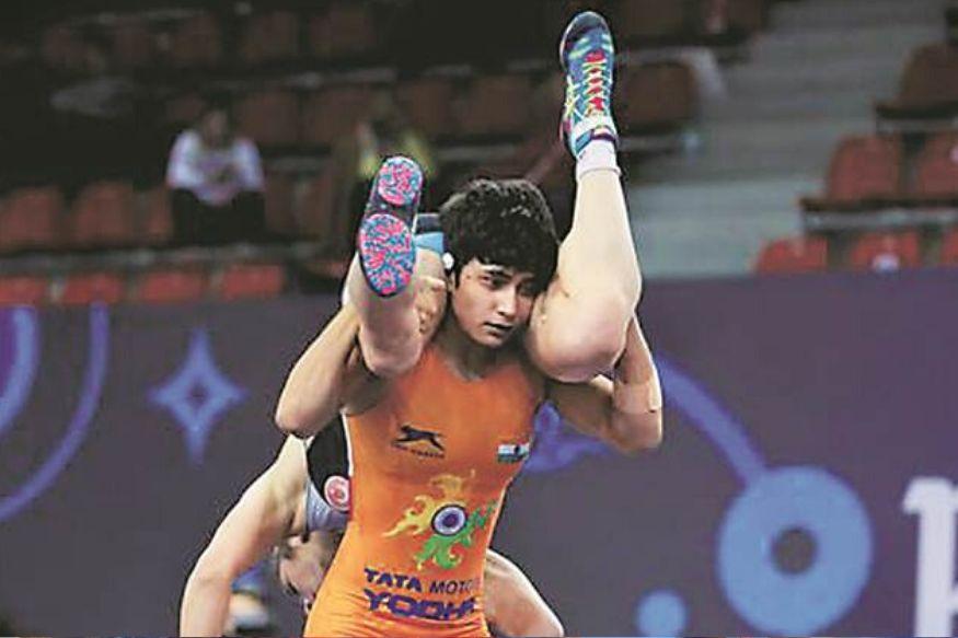 pooja gahlot, india, wrestling