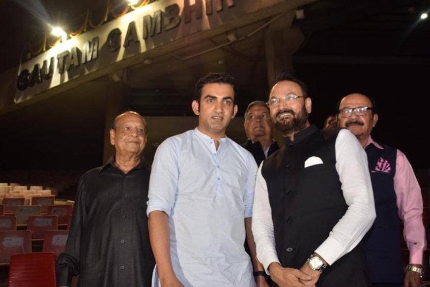 gautam gambhir stand, arun jaitley cricket stadium, rajat sharma gautam gambhir, delhi district cricket association, rajast sharma ddca, गौतम गंभीर स्टैंड, अरुण जेटली स्टेडियम, डीडीसीए रजत शर्मा