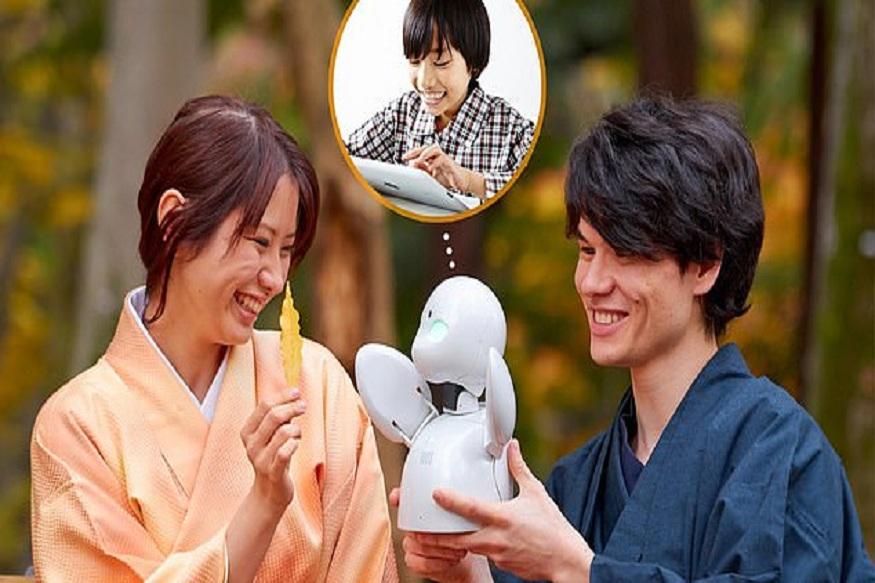 sciencetech, Japan, Ori Hime, Ory Laboratory, robot in classroom, Tokyo, Robot, पायलट प्रोग्राम, जापान, ओरी लिबरटी, ओरी हैम, कक्षा में रोबोट