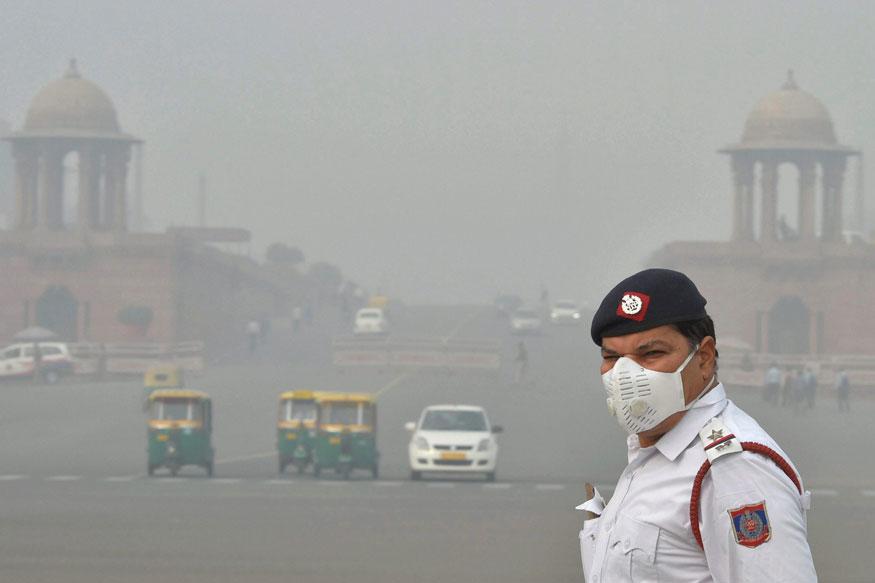 दिल्ली में वायु गुणवत्ता सूचकांक फिर 'बहुत खराब' श्रेणी में पहुंचा