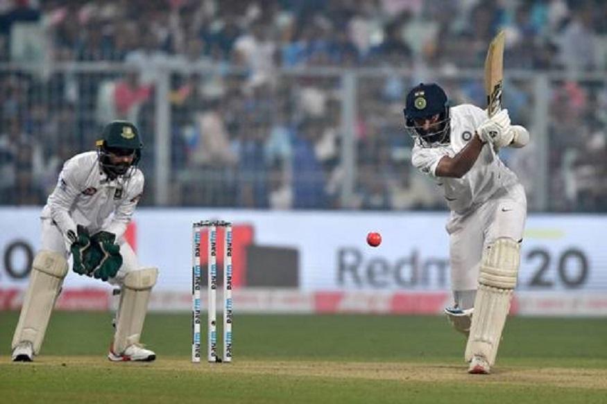 cricket news, cheteshwar pujara, indian cricket team, india vs bangladesh, kolkata test, eden gardens, pink ball test, क्रिकेट न्यूज, स्पोर्ट्स न्यूज, खेल, चेतेश्वर पुजारा, भारतीय क्रिकेट टीम, पिंक बॉल टेस्ट, कोलकाता टेस्ट, ईडन गार्डंस, इंडिया वस बांग्लादेश, हर्षा भोगले, संजय मांजरेकर, harsha bhogle, sanjay manjrekar