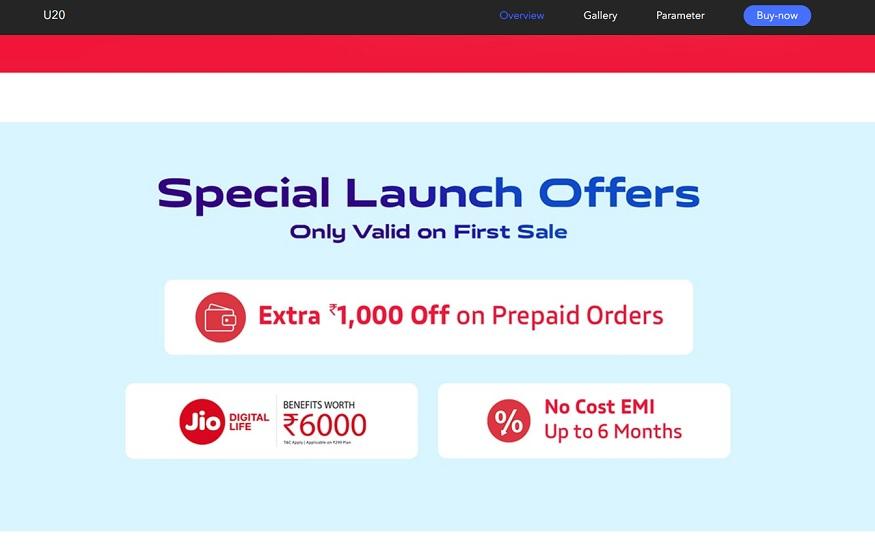 vivo launch offer