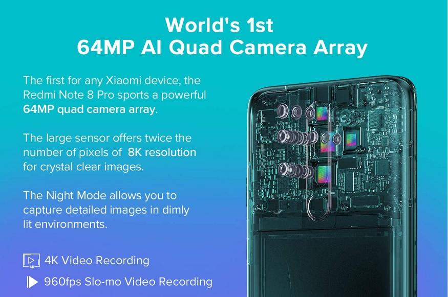खास है Redmi Note 8 Pro का कैमरा