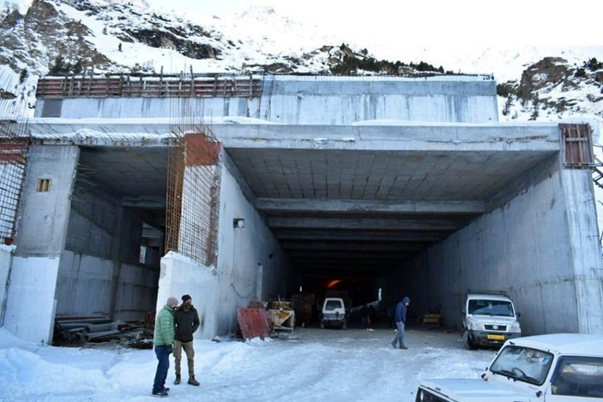 rohtang tunnel named as atal tunnel know its full details