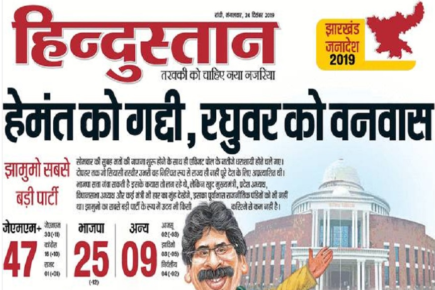 Jharkhand elections result