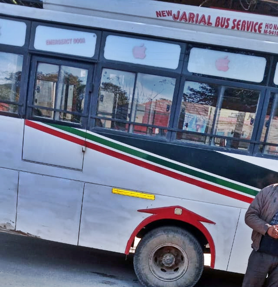 Private bus accident kangra
