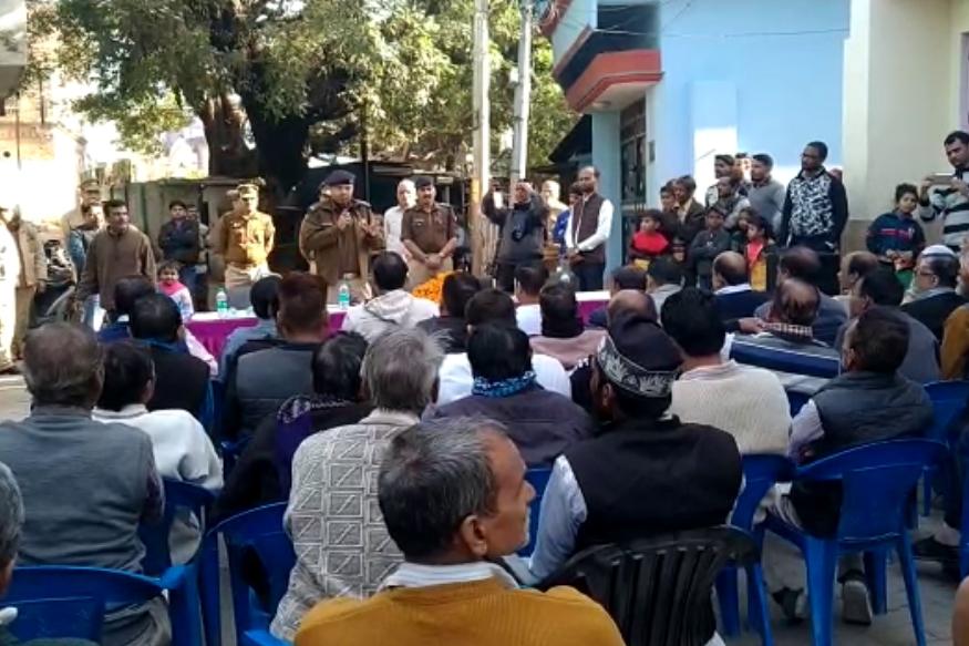 बरेली के एसएसपी ने लगाई चौपाल