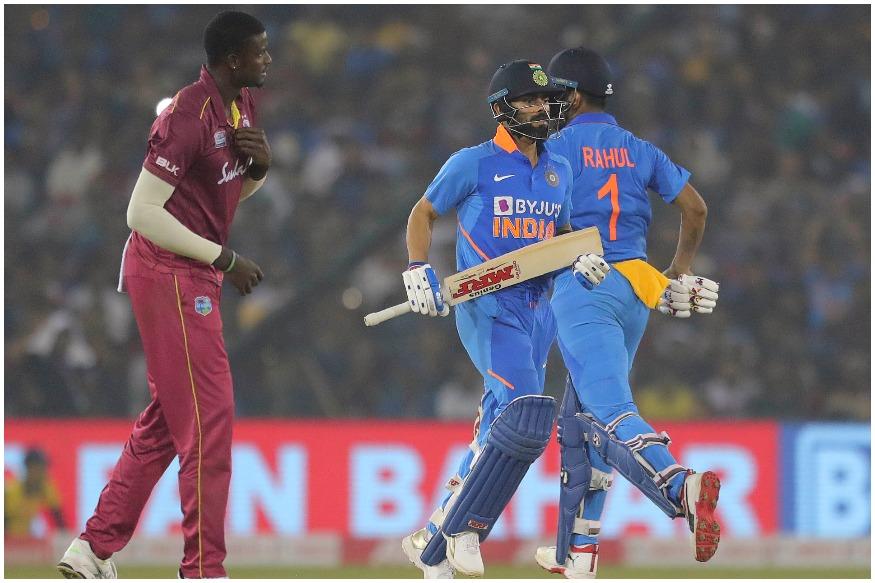India vs West Indies: टीम इंडिया की जीत में विराट कोहली, रोहित शर्मा और केएल राहुल ने अर्धशतक जमाए, भारत ने 8 गेंद पहले जीता मैच
