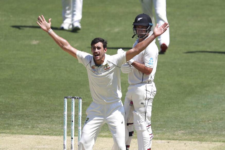 australia vs new zealand test, aus vs nz pink ball test, tim southee bowling, day night test, marnus labuschagne fifty, ऑस्ट्रेलिया न्यूजीलैंड टेस्ट, लाइव ऑस्ट्रेलिया न्यूजीलैंड टेस्ट, पिंक बॉल टेस्ट, टिम साउदी