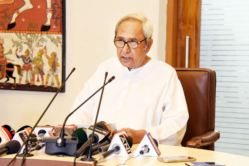 File picture of Odisha CM and BJD president Naveen Patnaik.