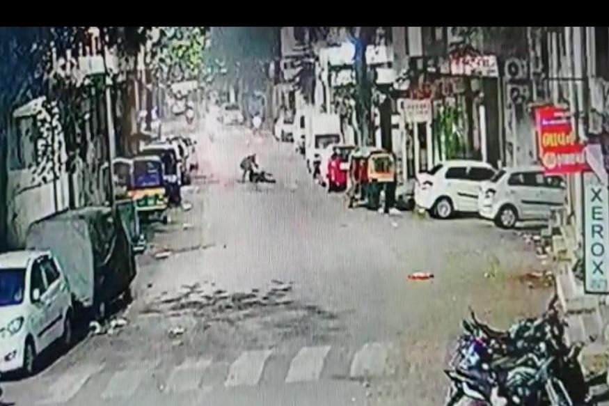 SURAT, SURAT POLICE, CCTV, ROAD, MURDER, CRIME IN SURAT