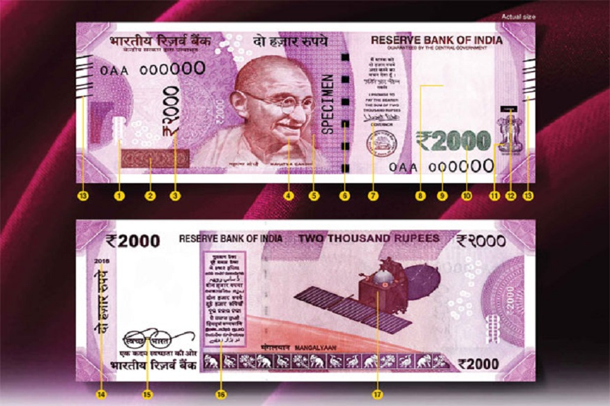 know why most fake notes are being made in 2000 how to identify currency ncrb new data details