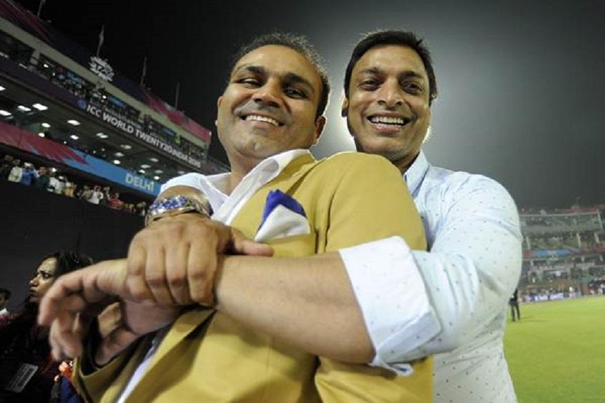 cricket news, sports news, virender sehwag, shoaib akhtar, india vs pakistan, क्रिकेट न्यूज, वीरेंद्र सहवाग, शोएब अख्तर, इंडिया वस पाकिस्तान
