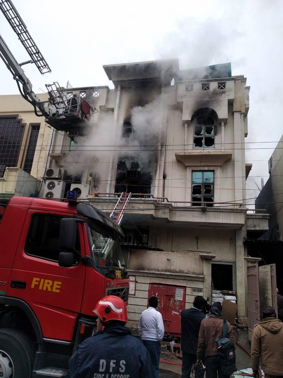 Patparganj Industrial Area Fire