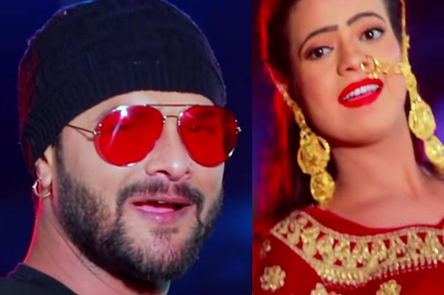 Khesari Lal Yadav, Bhojpuri, Bhojpuri Film, Lahanga Lakhnaua, Antra Singh Priyanka
