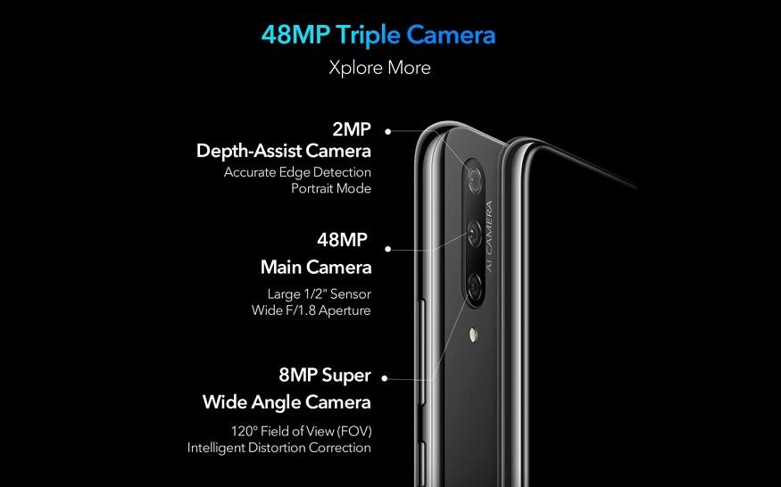 Honor 9X में ट्रिपल रियर कैमरा होगा.