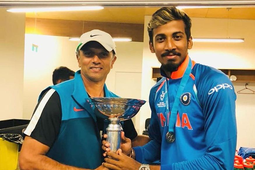 ishan porel bowling, ishan porel team india, ishan porel indian team, ishan porel rahul dravid, इशान पोरेल टीम इंडिया, इशान पोरेल राहुल द्रविड़