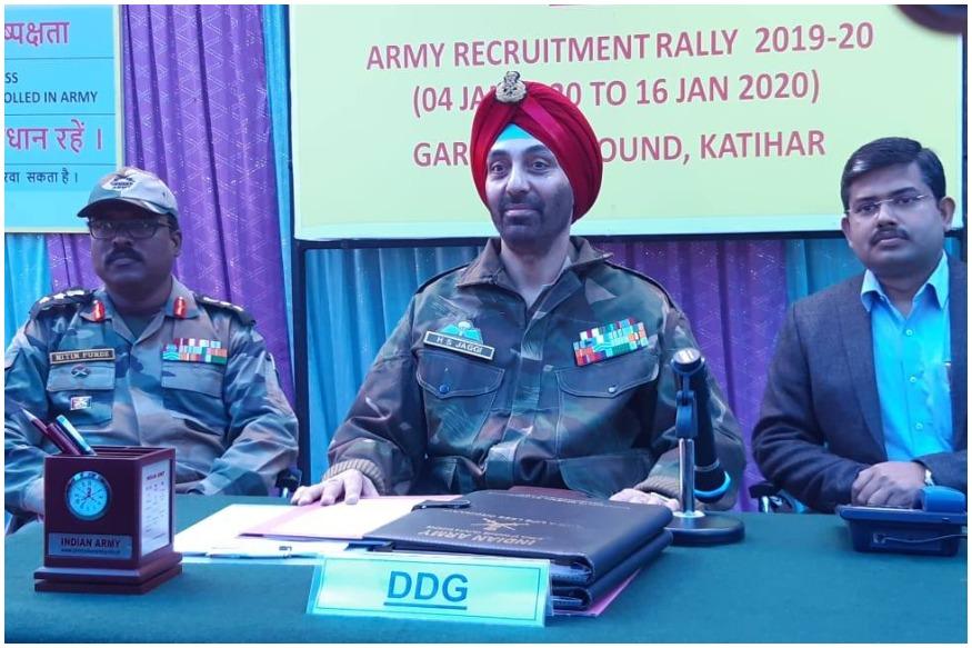 job-opportunity-in-indian-army-recruitment-rally-to-be-hold-at-katihar-of-bihar-from-4th-to-16th-january-brssg-nodrj | बिहारः भारतीय सेना में नौकरी का सुनहरा मौका, कटिहार में 4 जनवरी से होगी भर्ती रैली