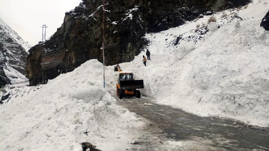 किन्नौर में टिंकू नाले में आया बर्फ का सैलाब. (File Photo)