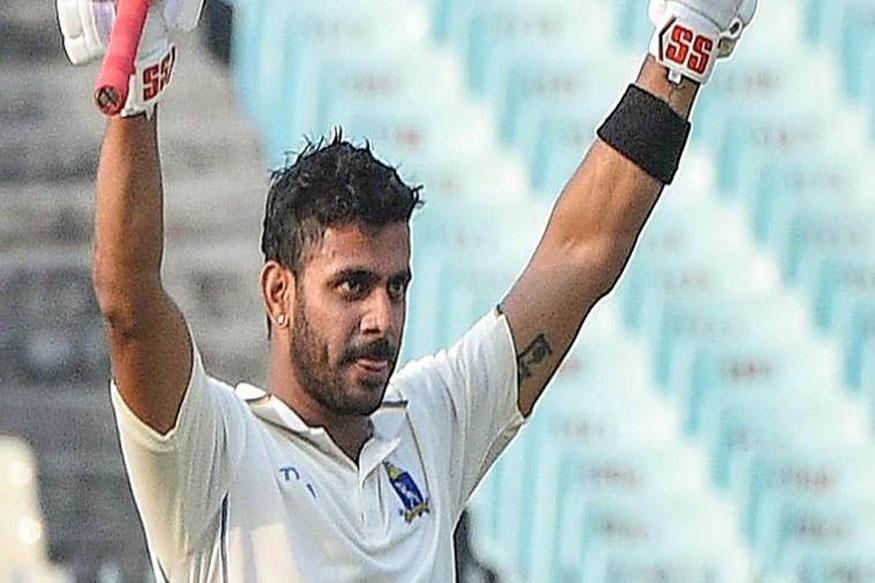 manoj tiwary triple century, manoj tiwary ranji trophy, manoj tiwary bengal, manoj tiwary team india, ranji trophy 2019-20, मनोज तिवारी तिहरा शतक, मनोज तिवारी रणजी ट्रॉफी, मनोज तिवारी स्कोर