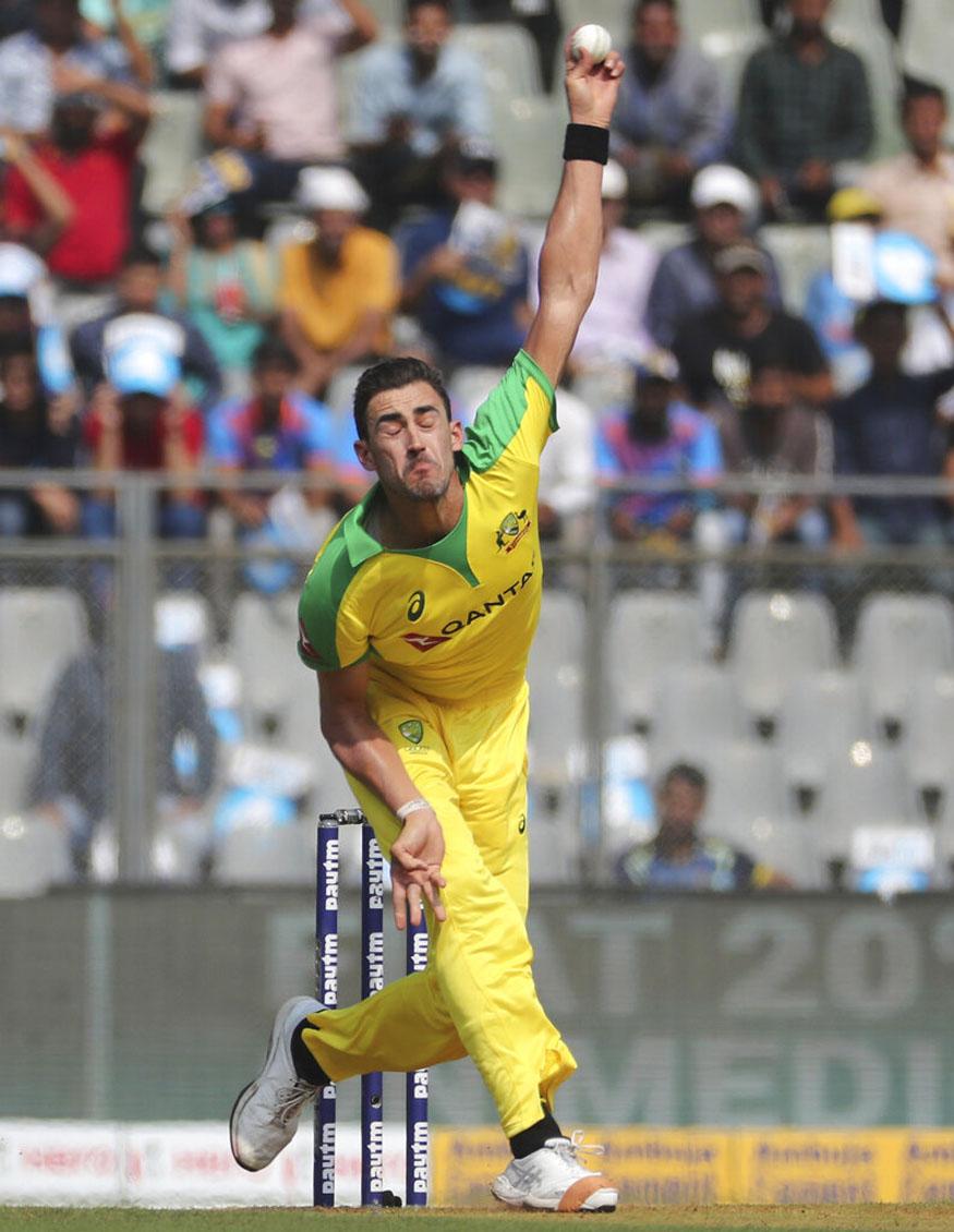 mitchell starc bowling, aaron finch captaincy, australia strategy, india vs australia odi, ind vs aus score, india australia match, इंडिया ऑस्ट्रेलिया मैच, मिचेल स्टार्क बॉलिंग, एरोन फिंच कप्तानी