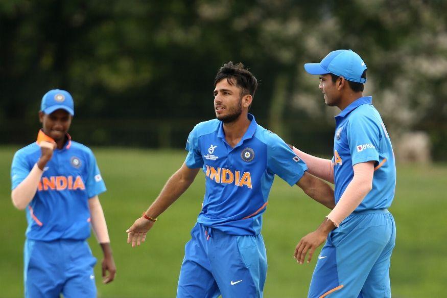 india under 19 cricket team, under 19 cricket world cup, u19 world cup 2020, u19 world cup quarter final, india vs australia u19 world cup, ravi bishnoi, tanveer sangha, इंडिया अंडर 19 क्रिकेट टीम, अंडर 19 क्रिकेट वर्ल्ड कप, इंडिया ऑस्ट्रेलिया अंडर 19, रवि बिश्नोई