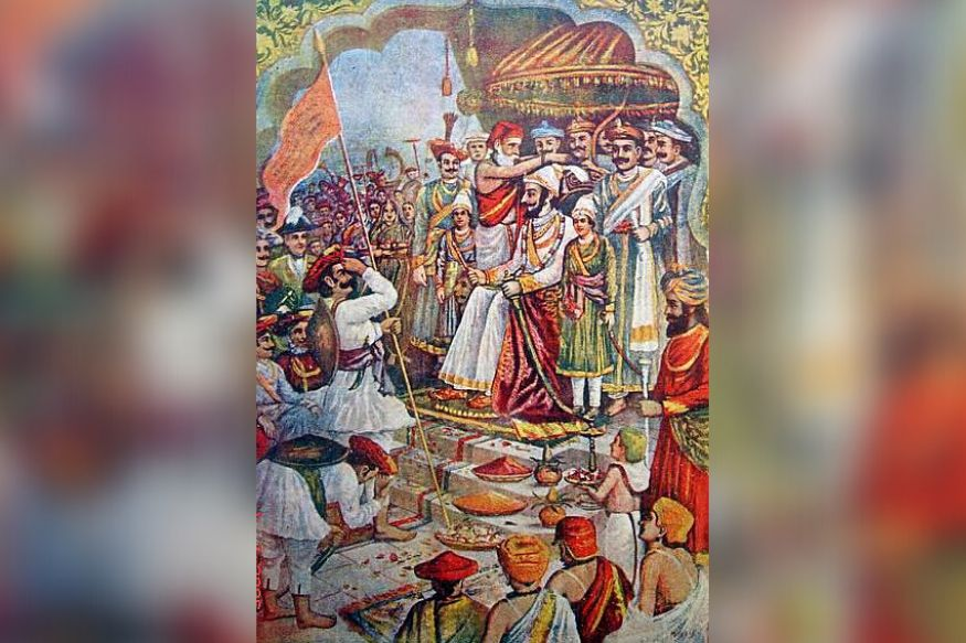 शिवाजी ने खुद को छत्रपति घोषित किया था.