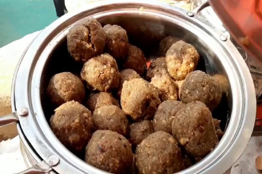 सूरजकुंड मेले: पर्यटकों की पहली पसंद बना देसी घी का चूरमा-in Surajkund Fair Desi Ghee Churma became first choice of tourists hrrm