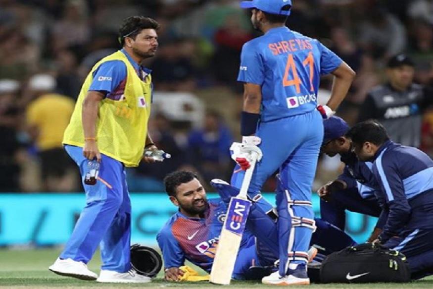 पांचवें टी20 मैच में रोहित शर्मा (Rohit Sharma) को लगी थी पिंडली में चोट, फील्डिंग के लिए भी नहीं उतरे थे