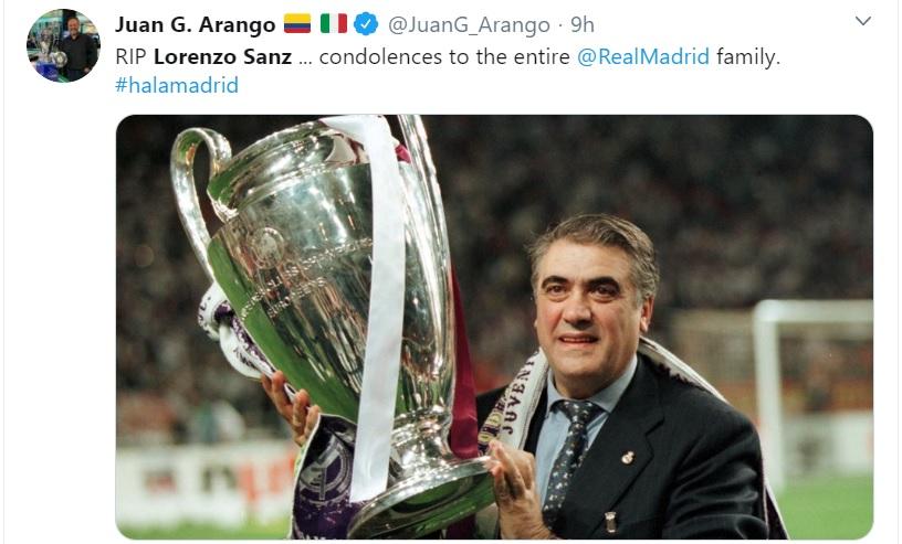 Coronavirus, Lorenzo Sanz, Real Madrid, sports news, कोरोना वायरस, लोरेंजो सैंज, रीयाल मैड्रिड