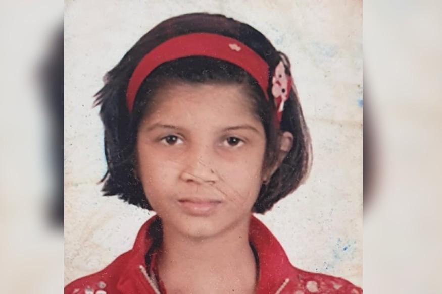 द्वारका मिश्र की दिवंगत बेटी शौर्या. Shaurya, late daughter of Dwarka Mishra.