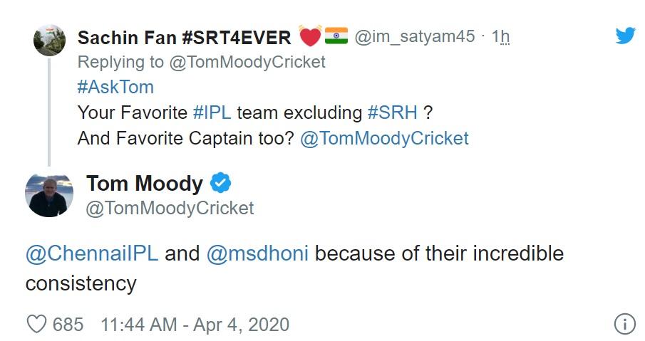 tom moody, virat kohli, ms dhoni, rohit sharma, cricket, sports news, टॉम मूडी, विराट कोहली, रोहित शर्मा, एमएस धोनी, चेन्नई सुपर किंग्स