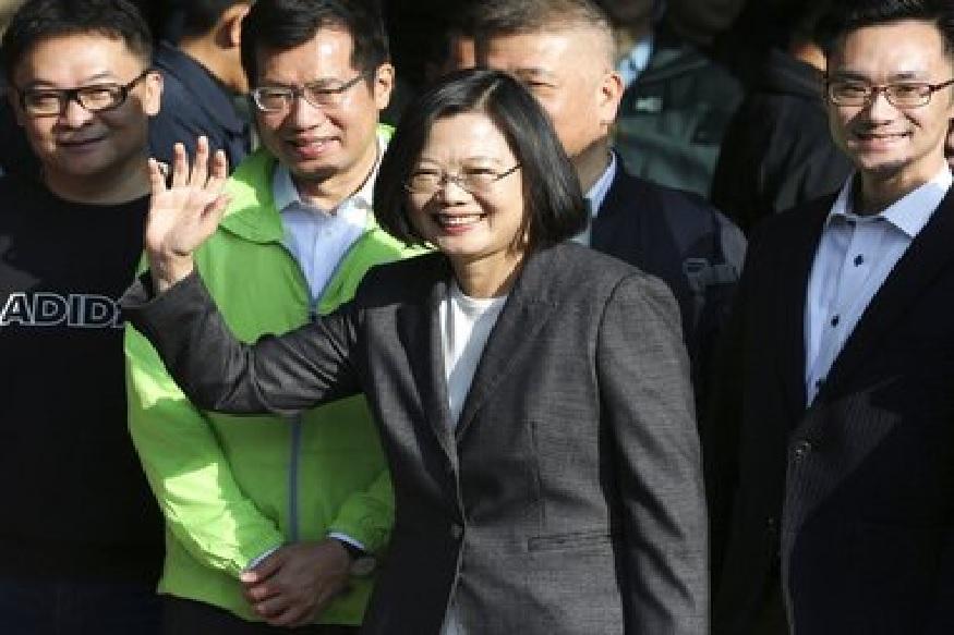 ताईवान की राष्ट्रपति लंदन स्कूल ऑफ इकॉनॉमिक्स से पीएचडी हैं. फोटो साभार/एपी